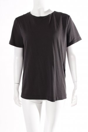 Cos T-Shirt anthracite textured