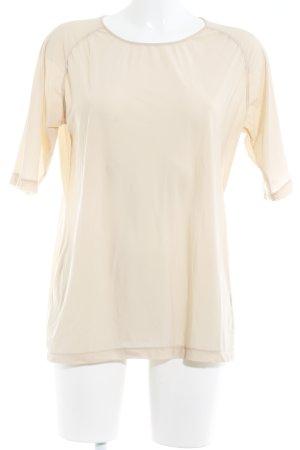 COS T-Shirt creme minimalistischer Stil