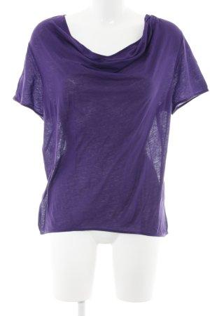 COS T-shirt violet foncé style simple