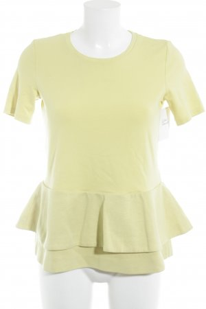 COS T-Shirt yellow casual look