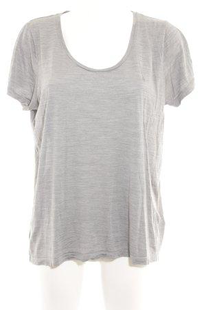COS T-Shirt grau meliert minimalistischer Stil