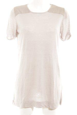 COS T-Shirt hellgrau-graugrün Casual-Look