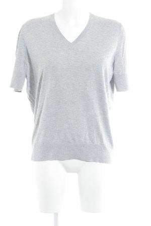 COS T-Shirt hellgrau meliert Casual-Look