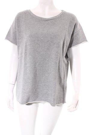 COS T-Shirt hellgrau schlichter Stil