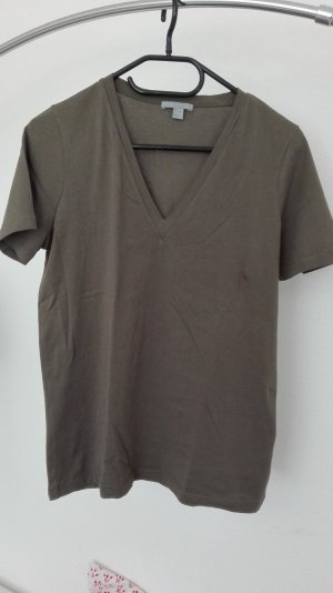 COS T-Shirt khaki Basic