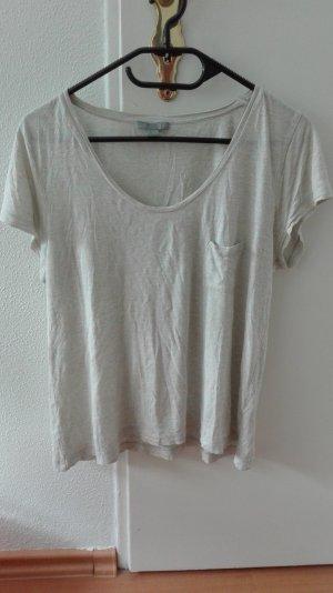 Cos T-Shirt locker oversize minimum M 38 meliert