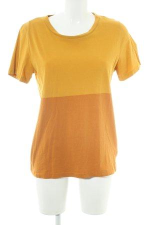 COS T-Shirt orange-hellorange Casual-Look