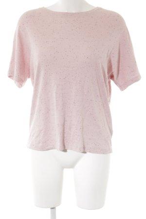 COS T-Shirt rosa Punktemuster Casual-Look