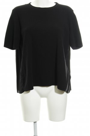 COS T-Shirt schwarz Business-Look