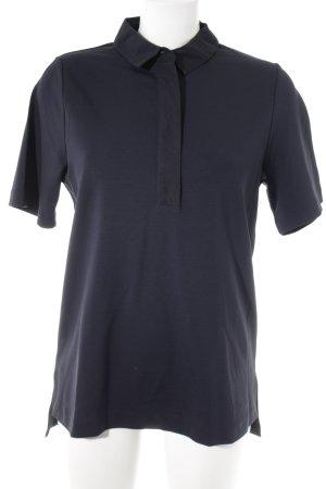 COS T-Shirt schwarz-dunkelblau Casual-Look