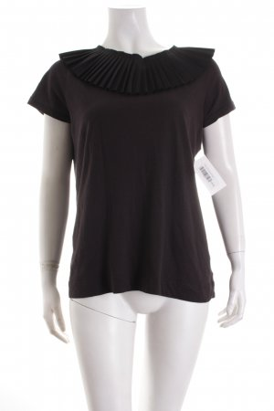 COS T-Shirt schwarz Elegant