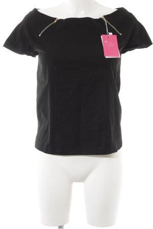 COS T-Shirt schwarz schlichter Stil