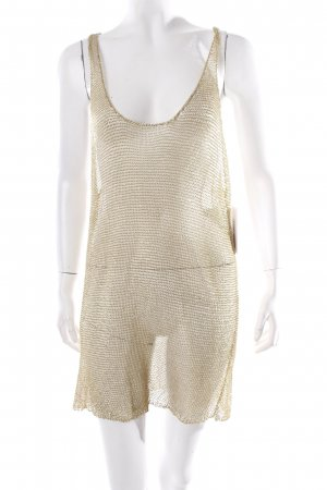 Cos Tanktop goldfarben Metallic-Optik