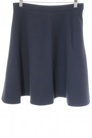 COS Circle Skirt dark blue casual look