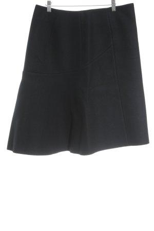 COS Circle Skirt dark blue classic style