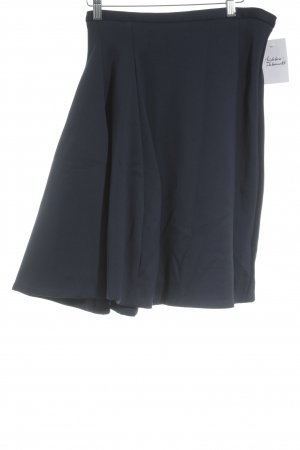 COS Circle Skirt dark blue classic style