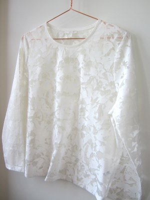 COS Top Bluse transparent clean Chic