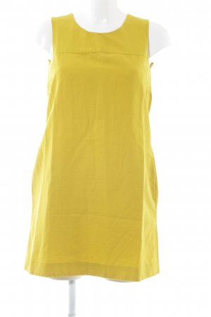 COS Pinafore dress lime yellow college style