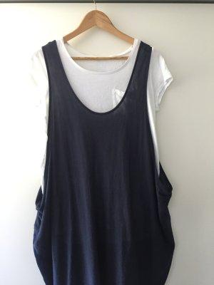 COS Trägerkleid Sommerkleid materialmix sackkleid