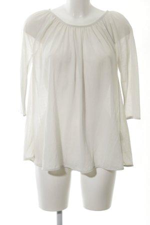 COS Transparent Blouse white elegant