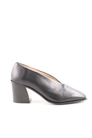 COS Zapatos Informales negro estilo «business»
