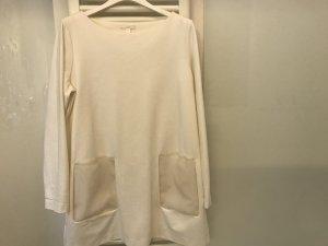 COS Robe tunique blanc viscose
