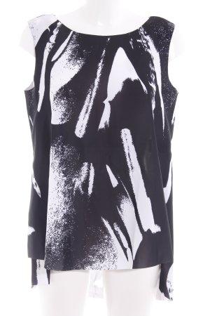 COS Casacca nero-bianco motivo astratto stile casual