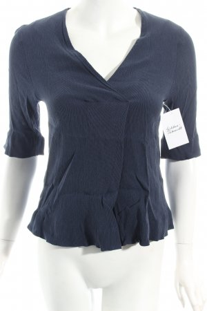 COS Tunikabluse dunkelblau minimalistischer Stil