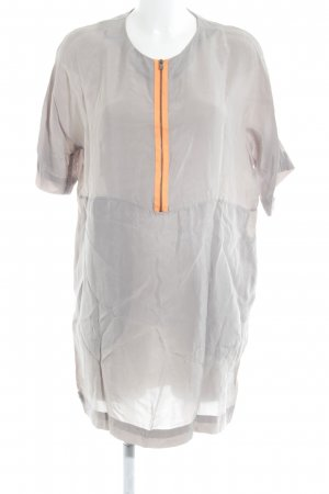 COS Tunic Dress light grey-orange casual look