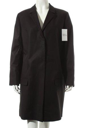 COS Übergangsmantel schwarz minimalistischer Stil