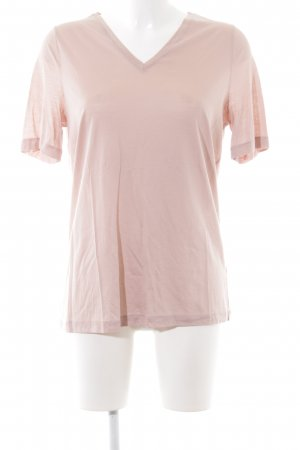 COS V-Ausschnitt-Shirt pink Casual-Look