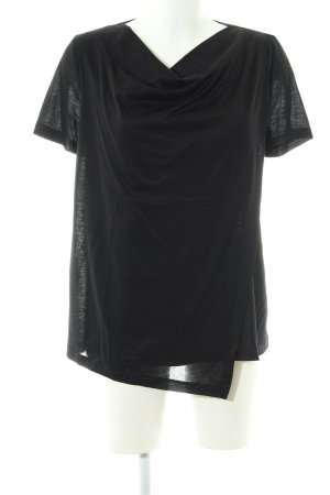 COS Cowl-Neck Shirt black casual look