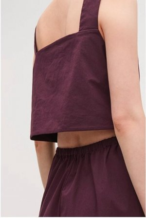 COS Onesie bordeaux