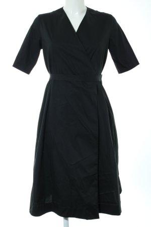COS Robe portefeuille noir style décontracté