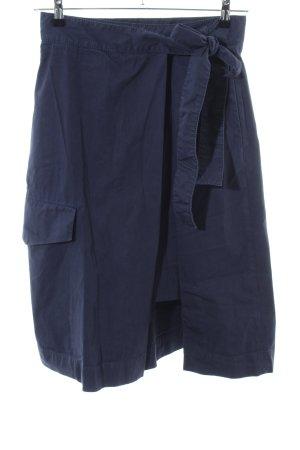 COS Wickelrock blau Casual-Look