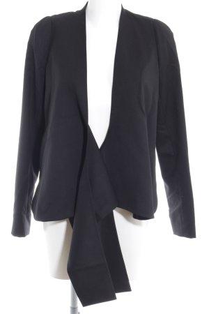 COS Woll-Blazer schwarz Elegant