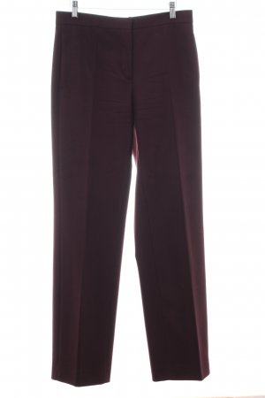 COS Pantalon en laine rouge style d'affaires