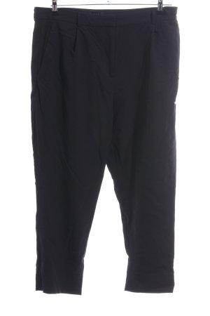 COS Woolen Trousers black casual look