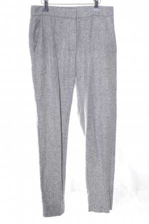 COS Woolen Trousers light grey flecked casual look