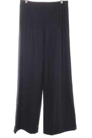 COS Wollen broek zwart casual uitstraling