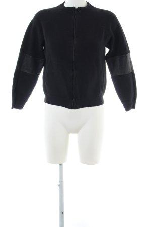 COS Giacca di lana nero stile casual