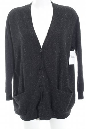 COS Wool Jacket anthracite-white flecked