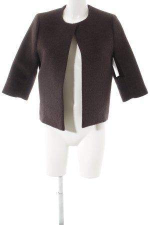 COS Wolljacke braun minimalistischer Stil