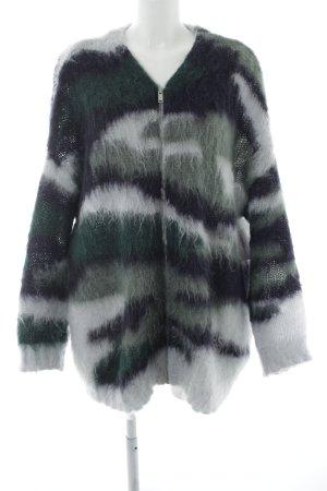 COS Veste en laine motif rayé style simple