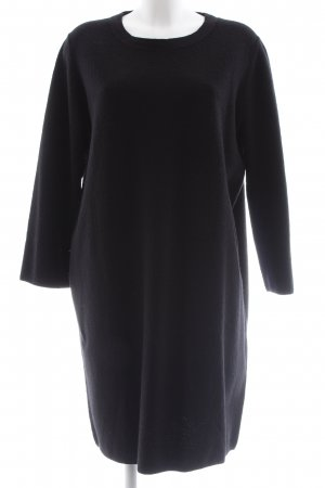 COS Wollen jurk zwart zakelijke stijl