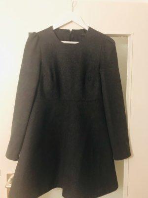 COS A Line Dress dark grey