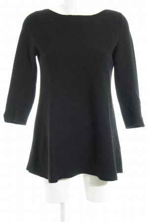COS Wollen jurk zwart casual uitstraling