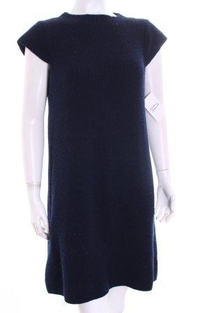COS Wollkleid dunkelblau schlichter Stil