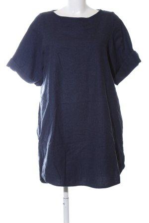 COS Wollen jurk blauw casual uitstraling