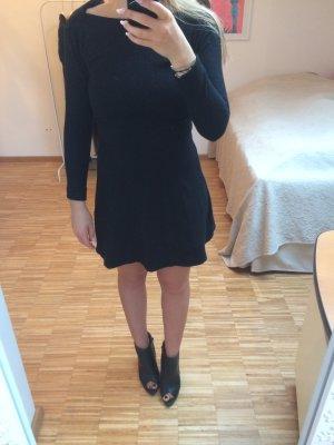 COS Wollkleid schwarz